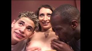 Russian Girl Visitor in the Hands of Porn Guys.