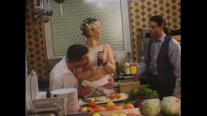 Perverted Couples In The Kitchen.