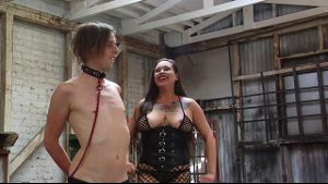 Real Dominant Girlfriend Torments Emo Cuckold.