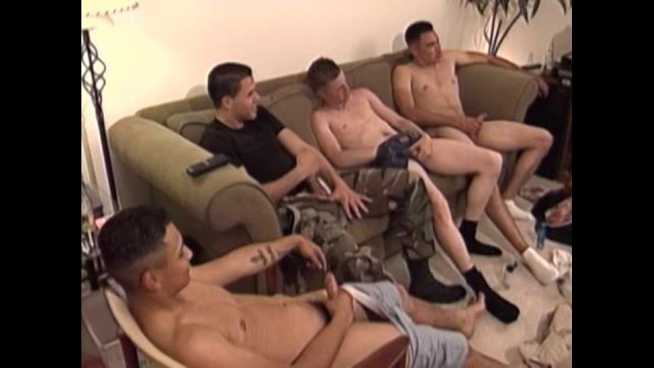 Marines Are At Ease But Not Their Boners, starring Andres, Johnny B., Anthony and Caleno, produced by San Diego Boy Productions. Video Categories: Orgies, Safe Sex, Masturbation, Military, Amateur and Uncut.