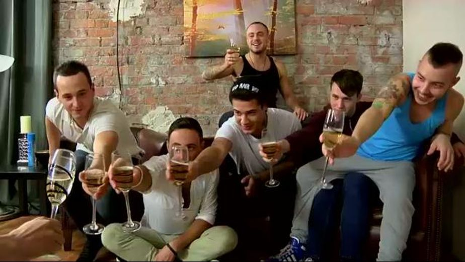 Champagne Before Blake Mason's Big Orgy, starring Luke Desmond, Riley Tess, Bradley Bishop, Mickey Taylor, Dylan Thome and Damien Gomez, produced by Blake Mason and PornPlays. Video Categories: Blowjob, Safe Sex and Orgies.