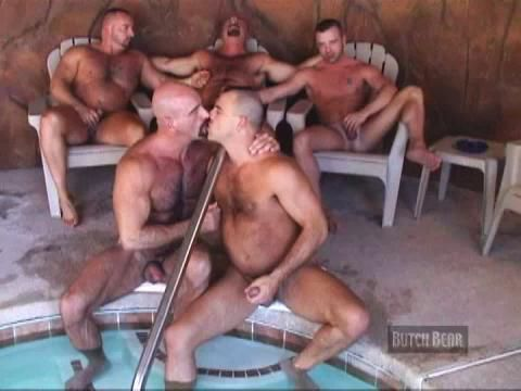 Bear Gay Orgy