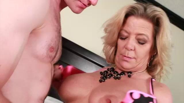 Horny granny gets fucked
