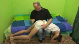 A Twink Gets A Spanking!.