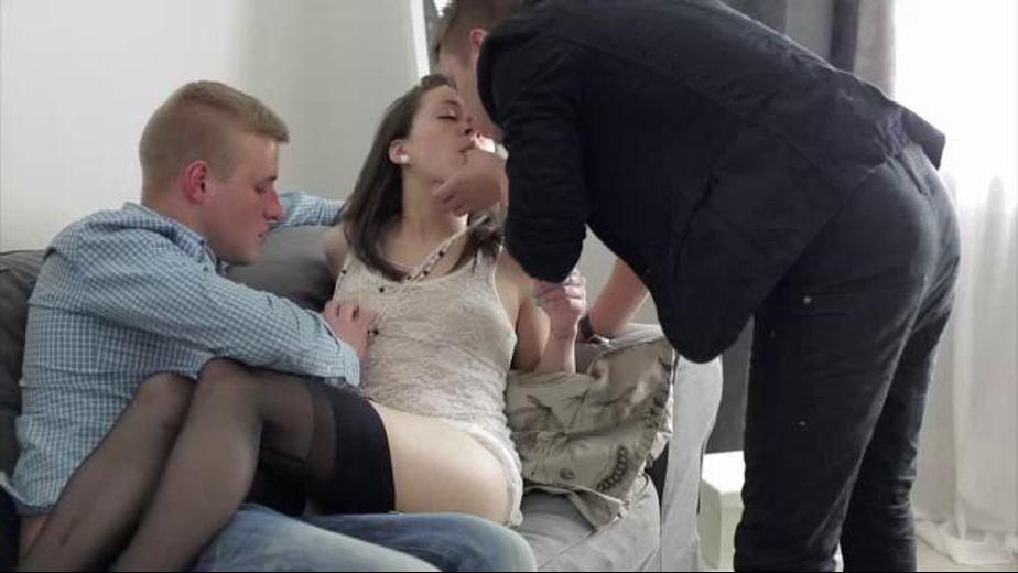 Double Down Before A DP, starring Iza (f), produced by Teen Erotica. Video Categories: College Girls and Anal.