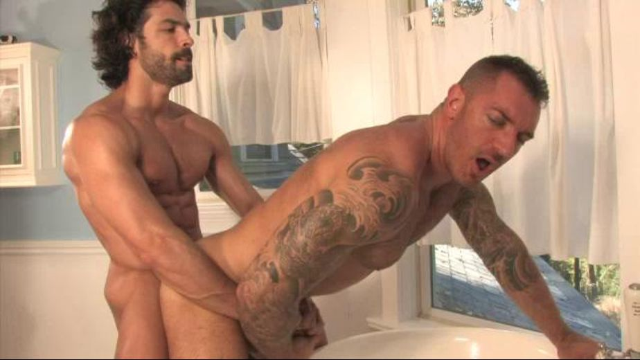Right to the Fuckin' Fuck, starring Francesco D'Macho and D.O., produced by Falcon Studios Group and Raging Stallion Studios. Video Categories: Safe Sex, Anal and Muscles.