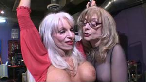 Sally D'Angelo Is Hung Up On Nina Hartley.