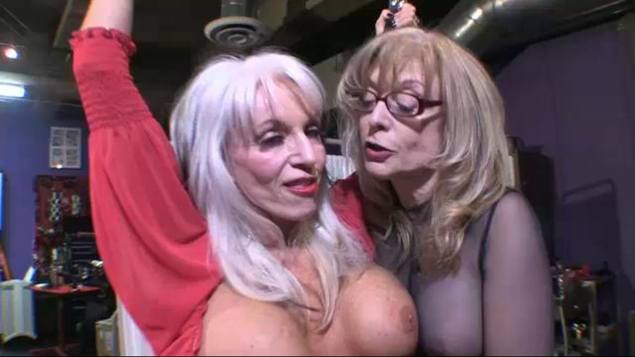 Sally D'Angelo Is Hung Up On Nina Hartley, starring Nina Hartley and Sally D'Angelo, produced by Divine Retribution and Sally D'Angelo. Video Categories: Big Tits, Fetish, Mature and BDSM.