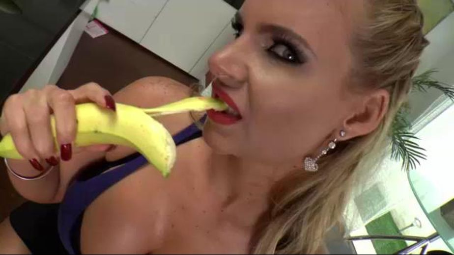 Twerking And Deep Throating Bananas, starring Phoenix Marie and Xander Corvus, produced by Joey Silvera Video and Evil Angel. Video Categories: Big Tits, MILF, Mature and Big Butt.
