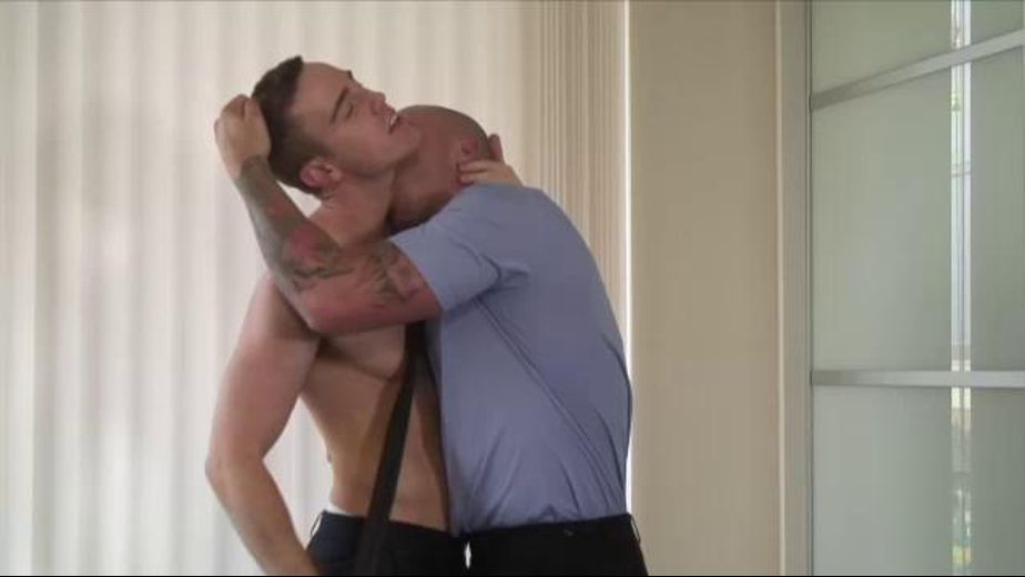 The Crime Boss' New Hire, starring J.P. Dubois and Wade Steel, produced by UKHotJocks. Video Categories: Blowjob, Euro and Muscles.