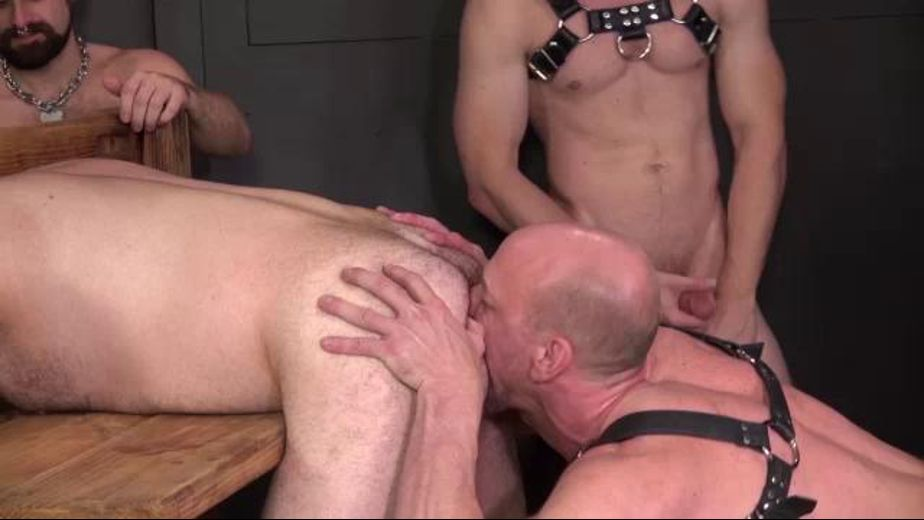 Trade in Stocks and Bondage, starring Jon, Cutler X and Michael, produced by Dick Wadd. Video Categories: Mature, Anal, Bear, Pigs, Orgies, Interracial, Blowjob, GangBang, Fetish and Leather.