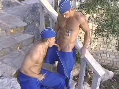 Muscled Military Men 8 - Scene 3