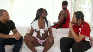 Black Sex Education Schoolgirl Gangbang.