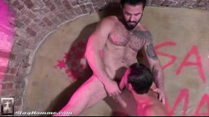 Jessy Ares On Mark Sanz in the Pink Underground.
