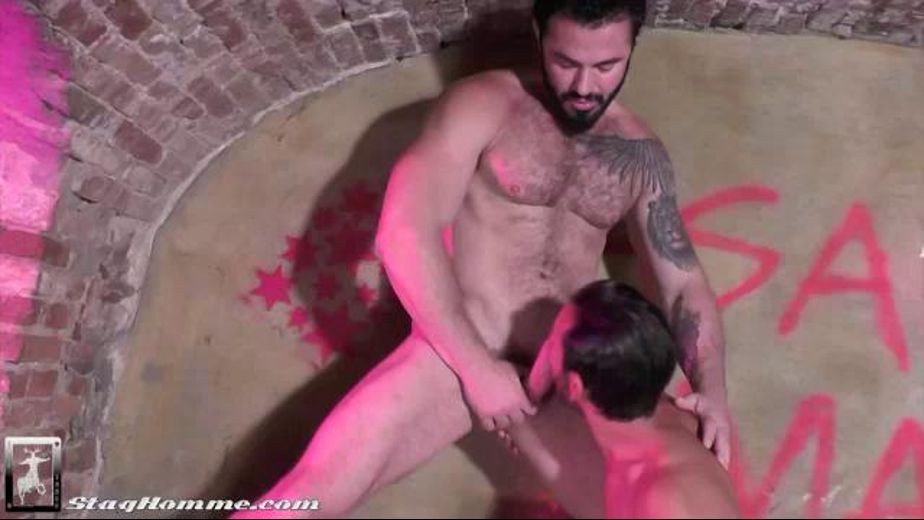 Jessy Ares On Mark Sanz in the Pink Underground, starring Jessy Ares and Mark Sanz, produced by Stag Homme Studios, Raging Stallion Studios and Falcon Studios Group. Video Categories: Euro, Blowjob and Muscles.