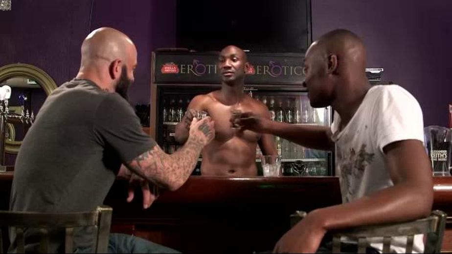 Bartender Serves Himself to Good Customers, starring Sam Swift, Tyson Tyler and Astengo, produced by Next Door Ebony. Video Categories: Blowjob, Black, Interracial, Muscles and Threeway.