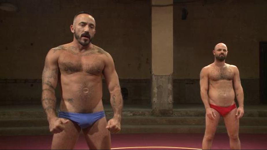 Big Alessio Romero Wrestles Real Life Partner, produced by KinkMen. Video Categories: Muscles and Jocks.