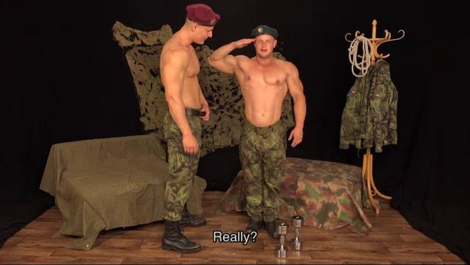 Corporal Punishment Military Style, produced by William Higgins. Video Categories: Fetish, BDSM, Uncut, Euro and Military.