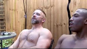 Dirk Caber Shows Working Men Take a Break.