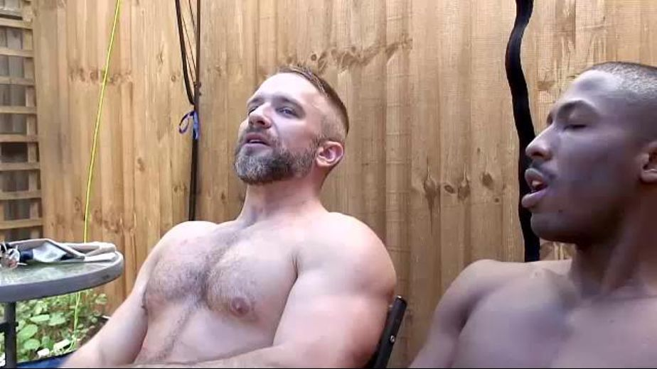 Dirk Caber Shows Working Men Take a Break, starring Dirk Caber and J.P. Richards, produced by Alphamales Studio. Video Categories: Interracial, Muscles, Bear and Blowjob.