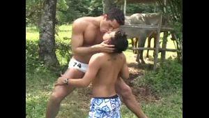 Latino Loses Virginity at the Swimming Hole.