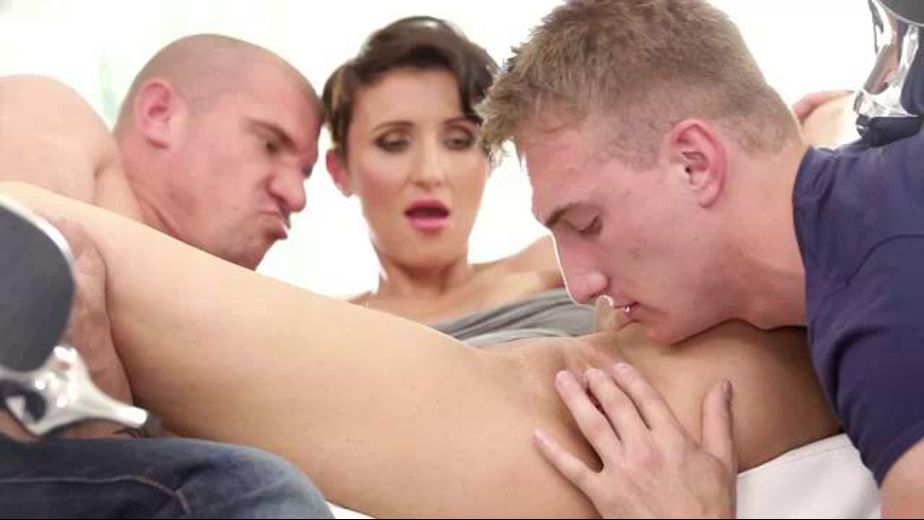 Her Boyfriend Tries Bi and Sucks Cock, starring Max Born, Gabrielle Gucci and Ryan Torres, produced by Doghouse Digital and Mile High Media. Video Categories: Fetish, Cuckold, Threeway, Brunettes and Blowjob.