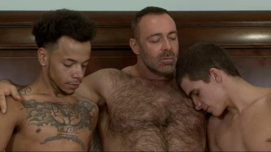 Bear With Large Appetites Needs Two Cubs, starring Brad Kalvo, Kory Houston and Tayveon Martin, produced by Iconmale and Mile High Media. Video Categories: Muscles, Blowjob, Interracial, Bear, Threeway and Mature.