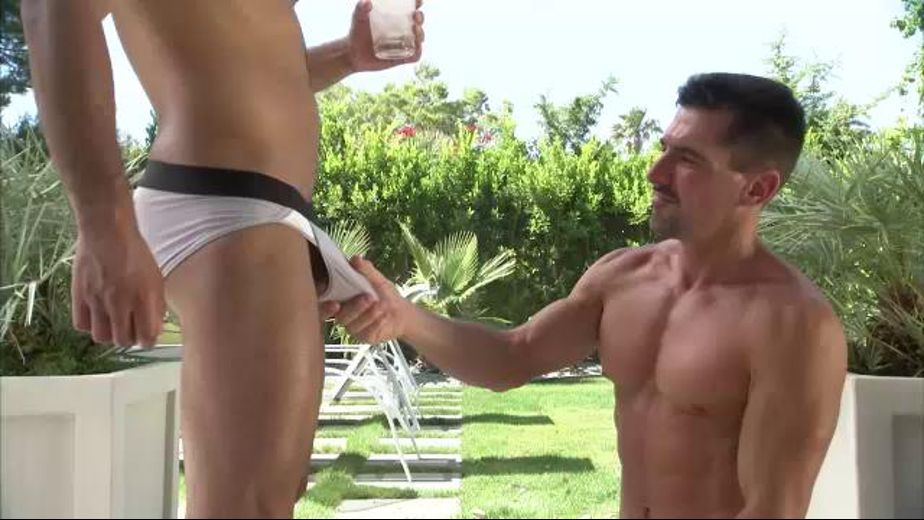 How to Get a New Golfing Buddy, starring David Anthony and Leo Forte, produced by Titan Media. Video Categories: Muscles and Blowjob.