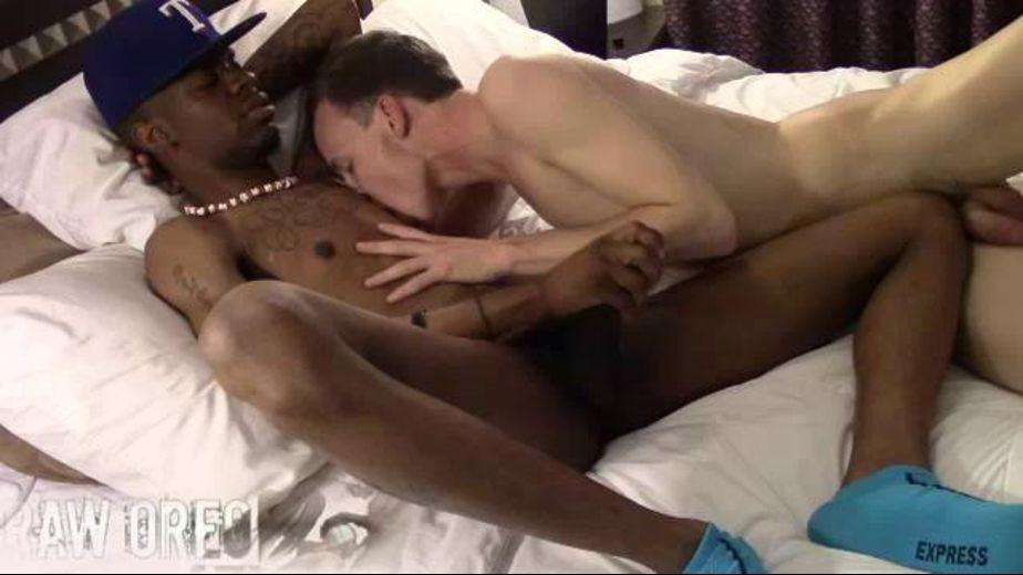 Big flaccid black cock and balls