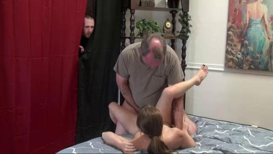 Brother Spies on Sis and Stepdad, starring Jennifer Bliss and JW Ties, produced by Desperate Pleasures. Video Categories: Cream Pies, Blowjob and Cuckold.