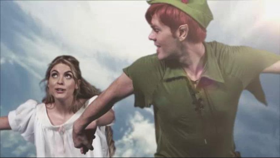 Peter Pan Gets Some Mermaid Head, starring Tommy Gunn, Ryan Ryder, Vicki Chase, Aiden Ashley, Riley Steele and Mia Malkova, produced by Wicked Pictures. Video Categories: Adult Humor.