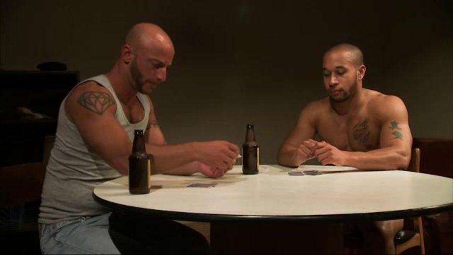 Aymeric DeVille Cheats at Strip Poker, starring Lawson Kane and Aymeric Deville, produced by Titan Media. Video Categories: Muscles and Blowjob.