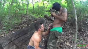 Making Porn in the Woods With White Boys.