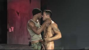 One Horny Soldier Breeds Another.