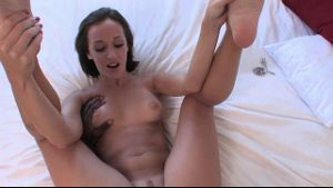 Jada Stevens Shows Blackzilla Her War Face.
