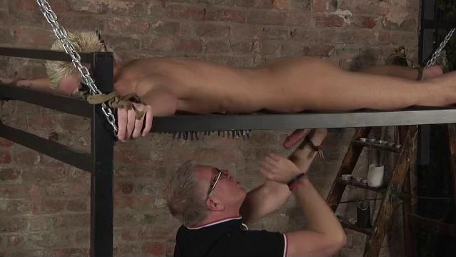 Fear Blindfold Torment with the Prickly Wheel, starring Sebastian Kain and Reece Bentley, produced by BoyNapped. Video Categories: Mature, BDSM, Euro, College Guys, Fetish and Masturbation.