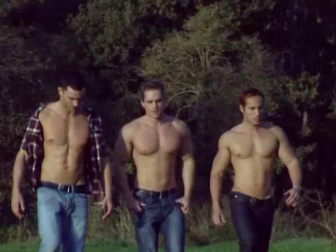 Three some latino gays