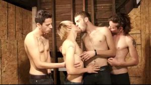 Four Way Twink Feeding Frenzy.