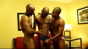 Two Black Men Want Dick on Demand.