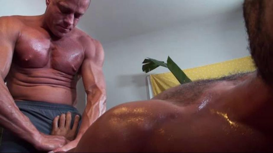 Tyler Saint Really Knows How to Give a Massage, starring Tyler Saint and Trey Turner, produced by Driveshaft. Video Categories: Massage, Muscles, Masturbation and Blowjob.