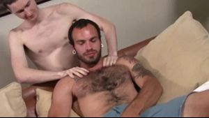 Josh Pierce Handles Maxx Fitch & His Huge Cock.
