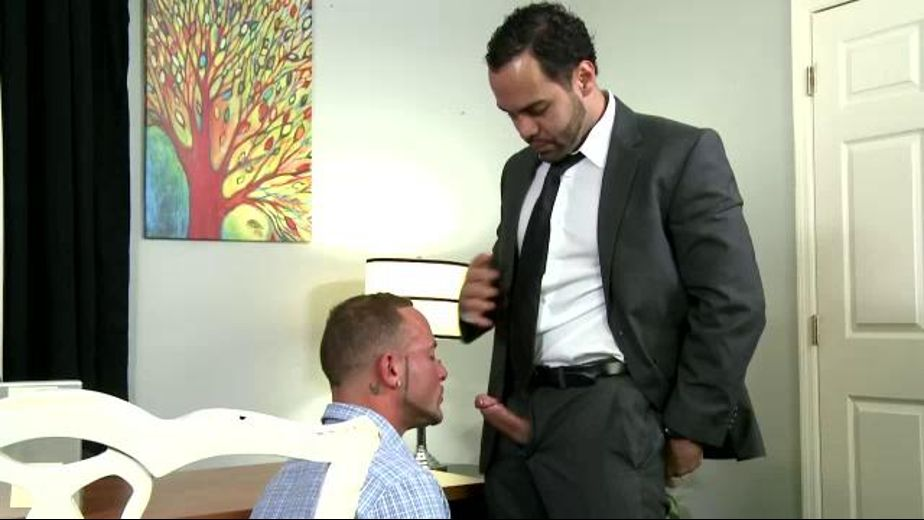Businessman Bangs Marxel Rios in Office, starring Marxel Rios, produced by Pride Studios. Video Categories: Uncut and Blowjob.