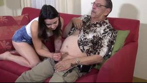 Amy Faye Loves Fucking Her Grandpa.