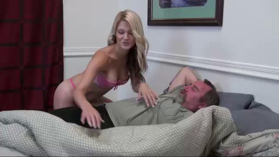 Stepdaughter Wakes Daddy Up, starring Hope Harper, produced by Desperate Pleasures. Video Categories: Blondes, Blowjob, College Girls and Older/Younger.