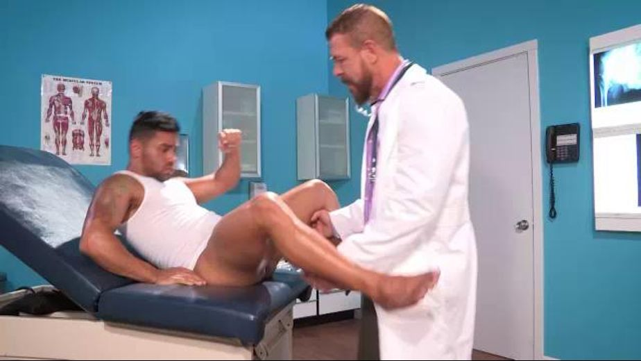 Dr. Rocco Steele Has a Great Bedside Manner, starring Bruno Bernal and Rocco Steele, produced by Falcon Studios Group and Hot House Entertainment. Video Categories: Muscles, Big Dick, Anal and Bear.