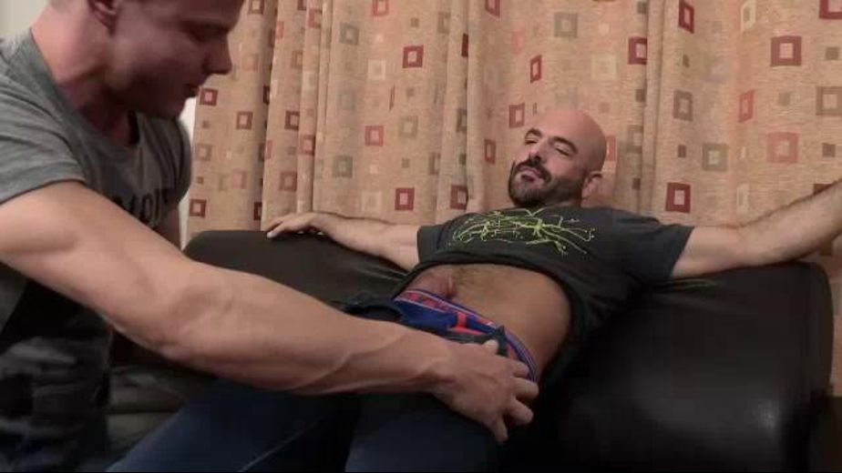 I Want That So Bad Sir Please, starring Adam Russo and Joseph Rough, produced by Jake Cruise Media and Hot Dads Hot Lads. Video Categories: Blowjob and Muscles.
