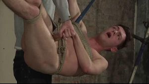 Jonah Tied Up and Tormented in Midair.