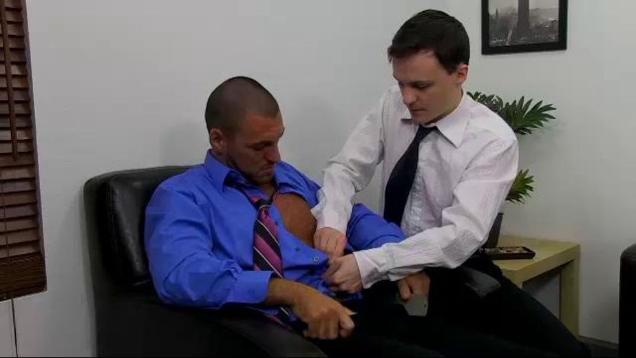 Job Interview For Stress Relief, starring Parker Wright, produced by Phoenixxx and PornPlays. Video Categories: Blowjob and College Guys.