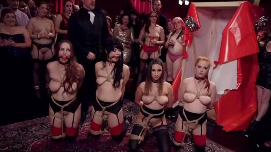 The Slave Girls Have Been Delivered, starring Seth Gamble, Bella Rossi, Ashley Adams, Mickey Mod, Penny Pax and Siouxsie Q., produced by Kink. Video Categories: Blowjob, BDSM, Gonzo, Natural Breasts, Brunettes, Orgies, Redheads, GangBang and Fetish.