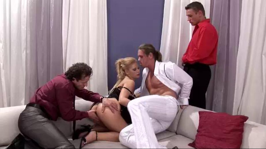 More and More Men Come in To Gang Bang Her, starring George Uhl, Luba Love and Thomas Crown, produced by DDF Production Ltd. Video Categories: GangBang, Masturbation, Natural Breasts, Blowjob and Blondes.